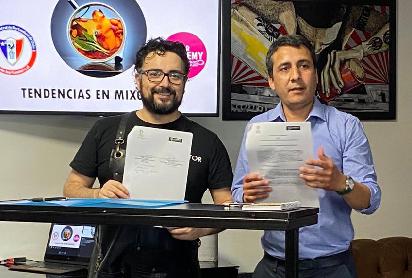 3 de Diciembre - Firma Convenio Pisco Chile y ACEBACH