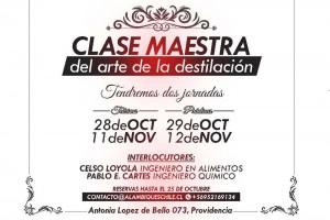 Clase Maestra, El arte de la destilación
