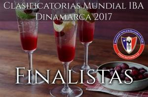 Finalistas Clasificatorias mundial Dinamarca 2017